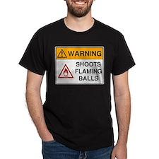 Warning: Shoots Flaming Balls!