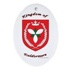 Kingdom of Ealdormere Oval Ornament