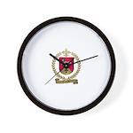 CHARTIER Family Crest Wall Clock
