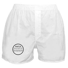 Mafia Mental Health Boxer Shorts