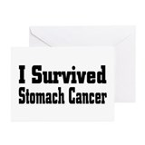 Stomach Cancer Greeting Cards (Pk of 10)