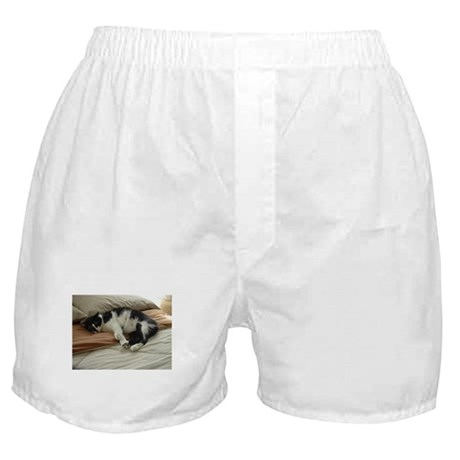 Tuxedo Cat Boxer Shorts