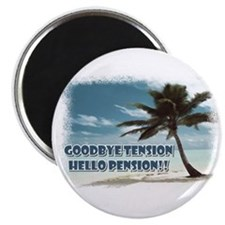 "Retirement 2.25"" Magnet (10 pack)"