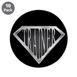 SuperTrainer(metal) 3.5&quot; Button (10 pack)