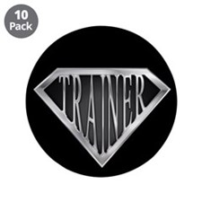 "SuperTrainer(metal) 3.5"" Button (10 pack)"
