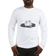 Funny Frog with Long Sleeve T-Shirt