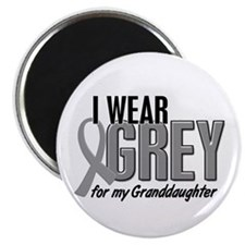 "I Wear Grey For My Granddaughter 10 2.25"" Magnet ("