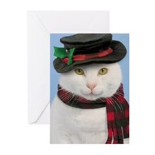 Snowcat Christmas Cards (Pk of 20)