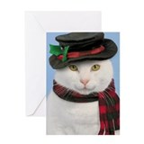 Snowcat Christmas Card