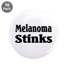 "Melanoma 3.5"" Button (10 pack)"