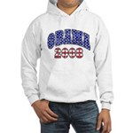 Distressed Obama 2008 Hooded Sweatshirt