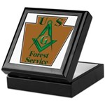 Forest Service Mason Keepsake Box