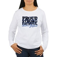 Cute Proud girlfriend marine T-Shirt