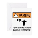 Quotes Greeting Cards (Pk of 10)