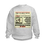 born in 1965 birthday gift Sweatshirt