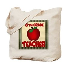 8th grade teacher Tote Bag