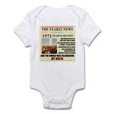 born in 1971 birthday gift Onesie