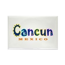 Cancun - Rectangle Magnet
