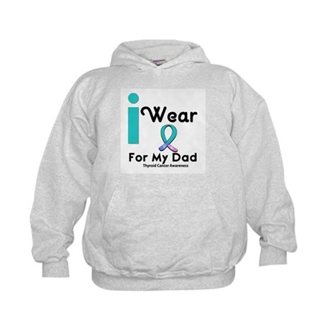 Thyroid Cancer Kids Hoodie