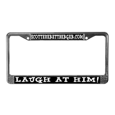LAUGH License Plate Frame