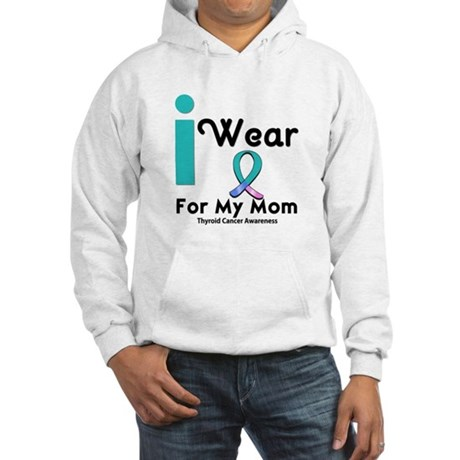 Thyroid Cancer Hooded Sweatshirt