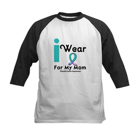 Thyroid Cancer Kids Baseball Jersey