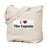 I Love The Captain Tote Bag
