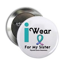 "Thyroid Cancer 2.25"" Button"
