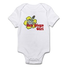 San Diego Girl Infant Bodysuit