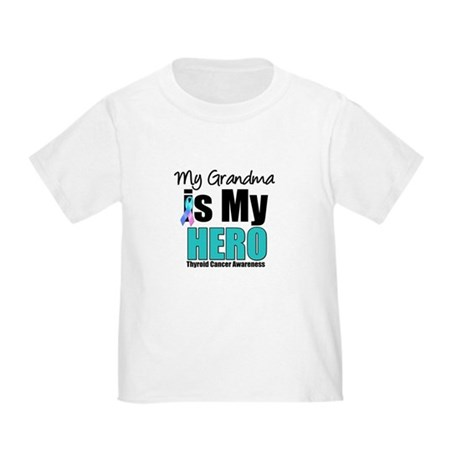 Thyroid Cancer Hero Toddler T-Shirt