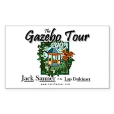 Gazebo Tour Official Rectangle Decal