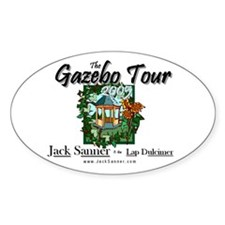 Gazebo Tour Official Oval Decal