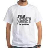 I Wear Grey For My Father 10 Shirt