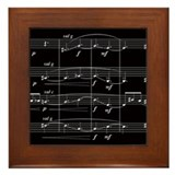 """String Quartet Number One"" Framed Tile"