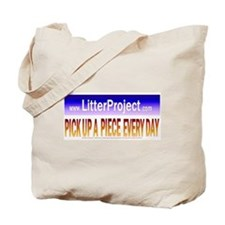 Litter Project Tote Bag (natural w/multi)