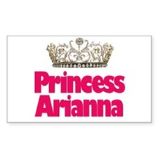 Princess Arianna Rectangle Decal