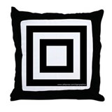 Square Target Throw Pillow