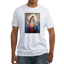 Kitschy Sacred Heart of Jesus Shirt