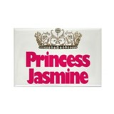 Princess Jasmine Rectangle Magnet