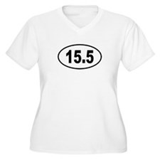 15.5 Womes Plus-Size V-Neck T-Shirt