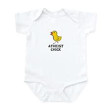 Atheist Chick Infant Bodysuit