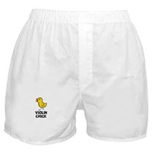 Violin Chick Boxer Shorts