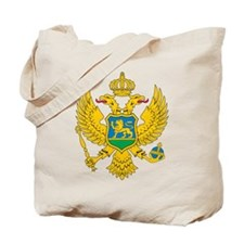 Montenegro Coat Of Arms Tote Bag