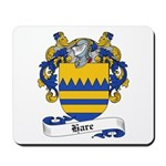 Hare Family Crest Mousepad