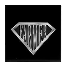 SuperFarmer(metal) Tile Coaster
