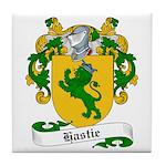 Hastie Family Crest Tile Coaster