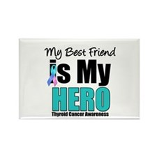 Thyroid Cancer Hero Rectangle Magnet (10 pack)