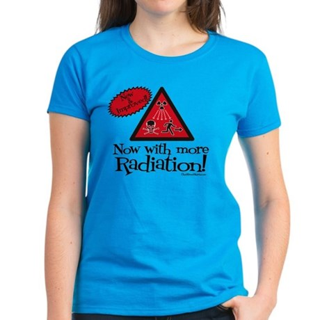 Now with more Radiation Shirt Women's Dark T-Shirt