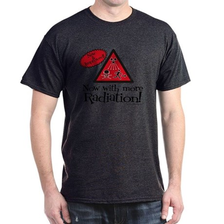 Now with more Radiation Shirt Dark T-Shirt