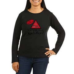 Now with more Radiation Shirt Women's Long Sleeve